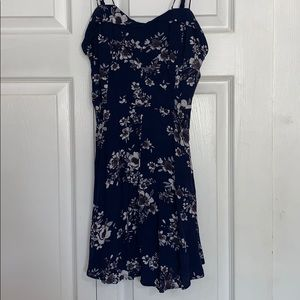 Blue Floral Urban Outfitters Dress